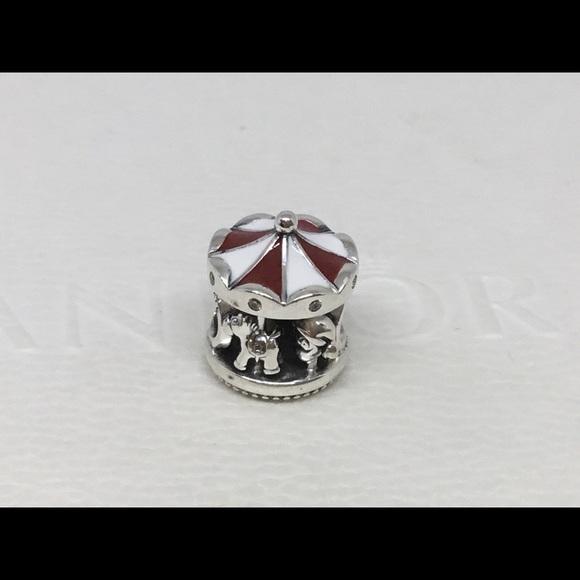 Pandora Jewelry Christmas Carousel Charm Poshmark